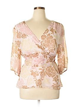 Daisy Fuentes 3/4 Sleeve Blouse Size 2X (Plus)