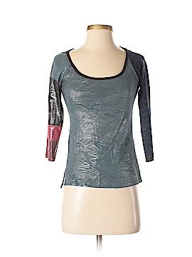 Custo Barcelona 3/4 Sleeve T-Shirt Size Sm (2)