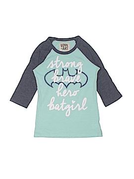 Love + Art Short Sleeve T-Shirt Size S (Youth)