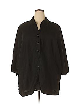 Avenue Short Sleeve Button-Down Shirt Size 30 - 32 Plus (Plus)