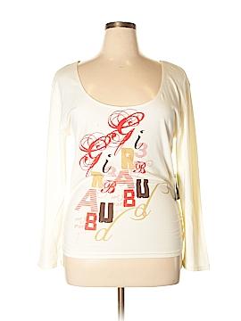 LE JEAN DE MARITHE FRANCOIS GIRBAUD Long Sleeve T-Shirt Size 2X (Plus)