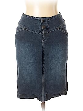 Chadwicks Denim Skirt Size 6