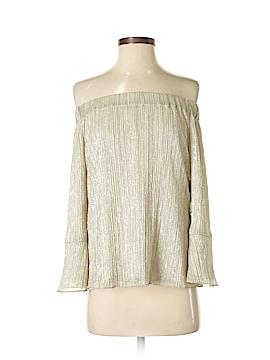 Waverly Grey Long Sleeve Blouse Size XS