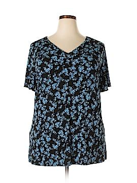 Jaclyn Smith Short Sleeve Top Size 2X (Plus)
