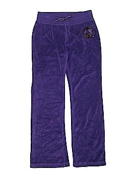 Basic Editions Velour Pants Size M (Kids)