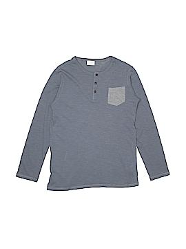 Zara Long Sleeve Henley Size 12