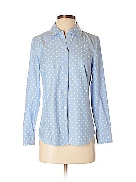 Croft & Barrow Long Sleeve Button-Down Shirt Size XS