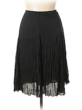 Larry Levine Casual Skirt Size 1X (Plus)