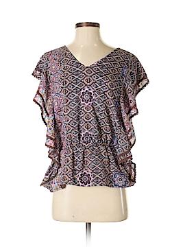 Fashion Fuse Short Sleeve Blouse Size S