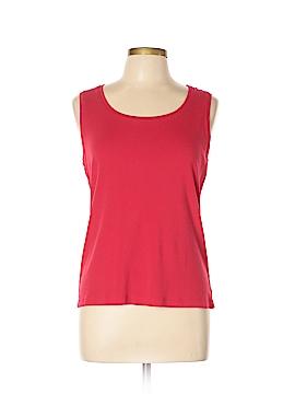 Chico's Sleeveless T-Shirt Size Lg (2)