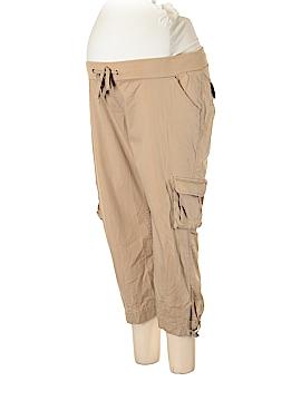 Liz Lange Maternity Cargo Pants Size L (Maternity)