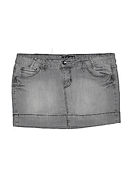 L.e.i. Denim Skirt Size 15