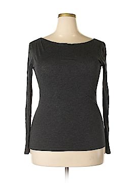 Halogen Long Sleeve T-Shirt Size L