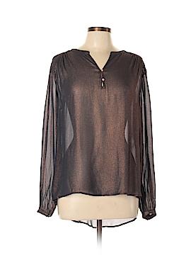 Wrap Long Sleeve Blouse Size 10