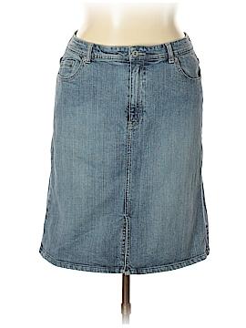 Chico's Denim Skirt Size 2.5