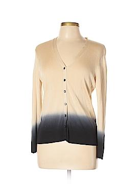 AK Anne Klein Silk Cardigan Size L