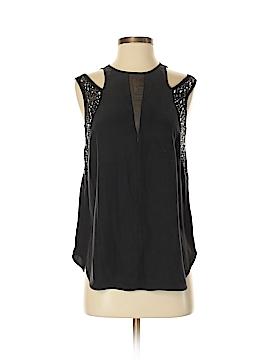 Rebecca Taylor Sleeveless Silk Top Size 4