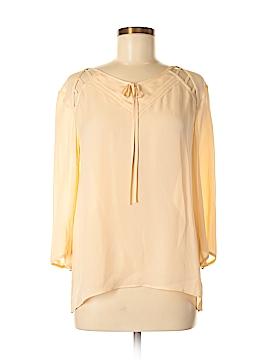 Rebecca Minkoff 3/4 Sleeve Silk Top Size 8