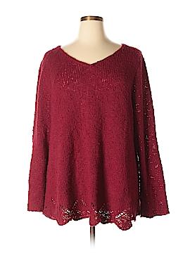 Denim 24/7 Pullover Sweater Size 1X (Plus)