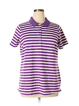 Laura Scott Short Sleeve Polo Size 16 (Plus)