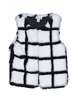Cherokee Faux Fur Vest Size 6 - 6X