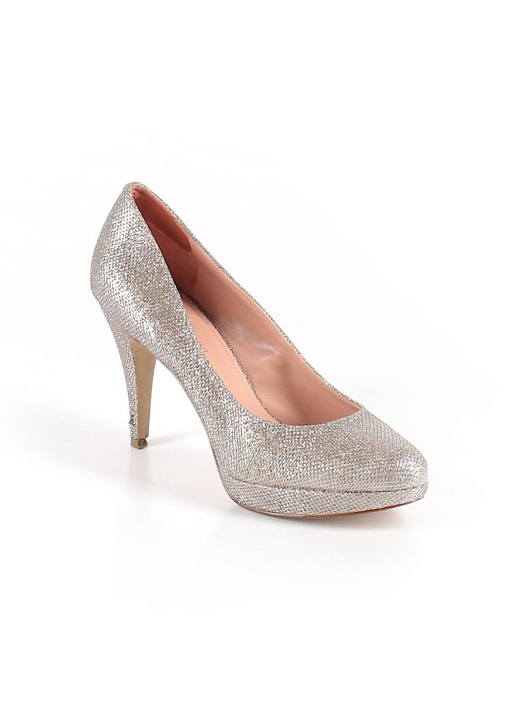 Enzo Angiolini Metallic Silver Heels Size 8 1 2 - 71% off  0d25e2879da9