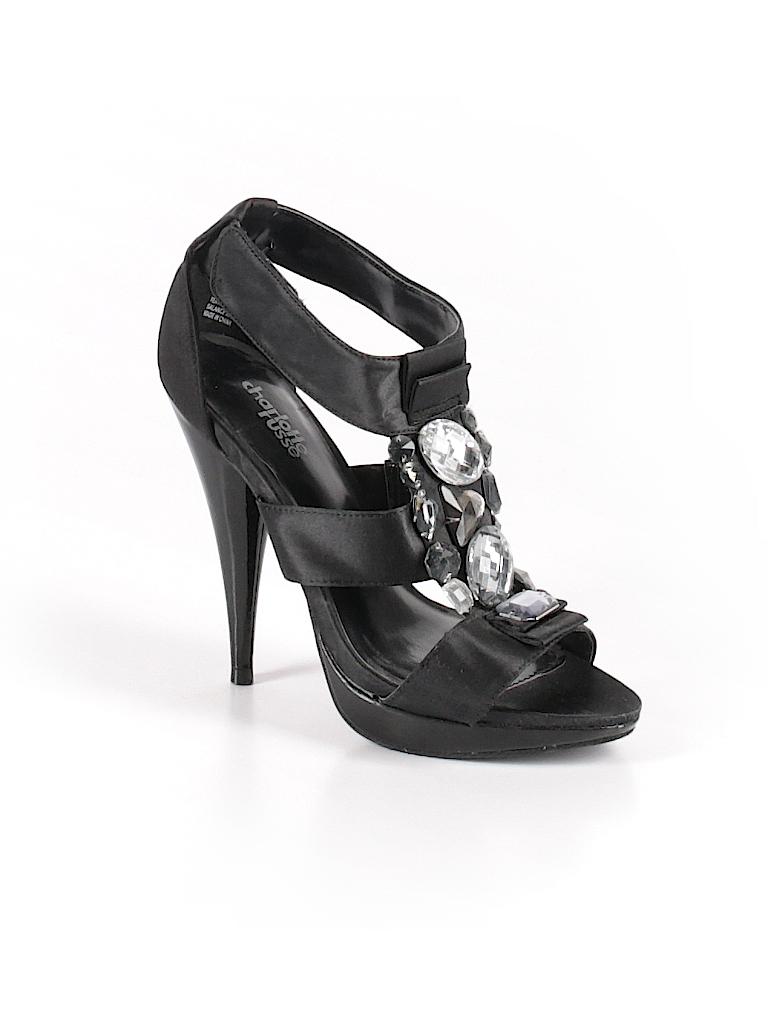 bdc36690ceb Charlotte Russe Solid Black Heels Size 6 - 72% off
