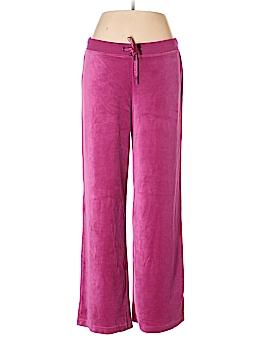 Plush & Lush Velour Pants Size L