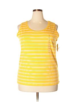 Jones New York Sleeveless T-Shirt Size 2X (Plus)