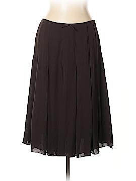 Ellen Tracy Silk Skirt Size 12