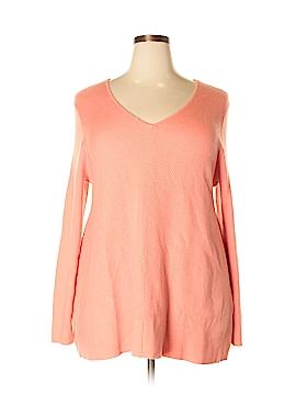 Croft & Barrow Pullover Sweater Size 1X (Plus)