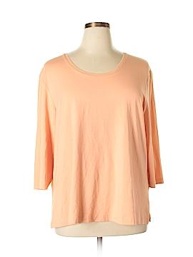 Ulla Popken 3/4 Sleeve T-Shirt Size 16 - 18