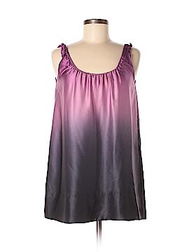 DKNYC Sleeveless Silk Top Size 4