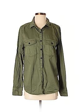 Sanctuary Long Sleeve Button-Down Shirt Size XS