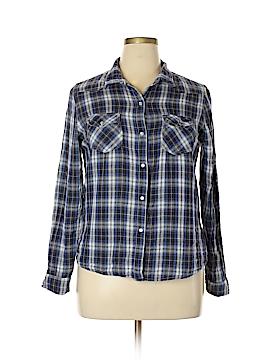 Vanilla Star Long Sleeve Button-Down Shirt Size XL