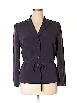 Kasper A.S.L. Silk Blazer Size 14