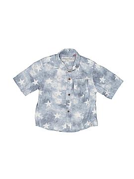 Sovereign Code Short Sleeve Button-Down Shirt Size 9 mo