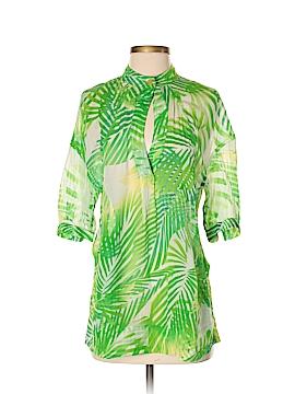 Diane von Furstenberg Short Sleeve Blouse Size 2