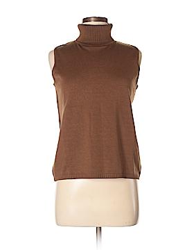 Josephine Chaus Silk Pullover Sweater Size M