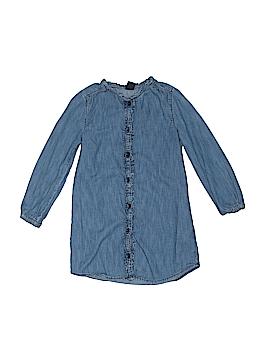 Gap Kids 3/4 Sleeve Button-Down Shirt Size X-Small (Kids)