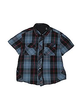 Dickies Short Sleeve Button-Down Shirt Size 6