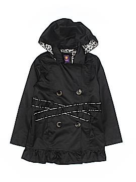 Pink Platinum Raincoat Size 6X