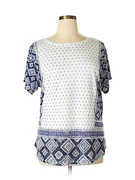 Great Northwest Indigo Short Sleeve T-Shirt Size 1X (Plus)
