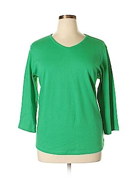 Jones New York Sport 3/4 Sleeve T-Shirt Size 2X (Plus)