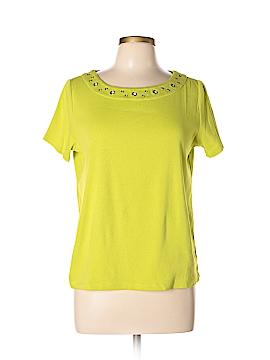 Rafaella Short Sleeve Top Size L