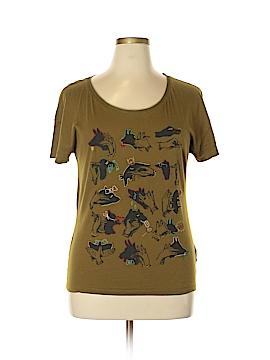 Princess Vera Wang Short Sleeve T-Shirt Size L