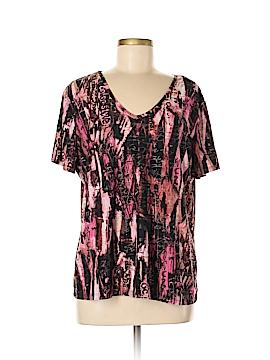 Nygard Collection Short Sleeve Top Size XL
