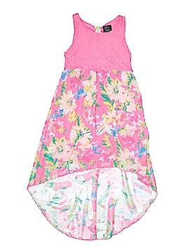 Pink & Violet Dress Size 10 - 12