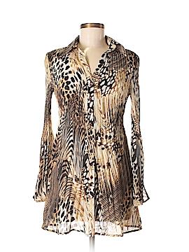 Hayley Matthews Long Sleeve Button-Down Shirt Size S