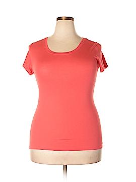 Active Basic Short Sleeve T-Shirt Size 1X (Plus)